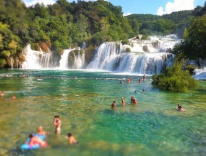 Krka Waterfalls Golden Rays Villas Excursion