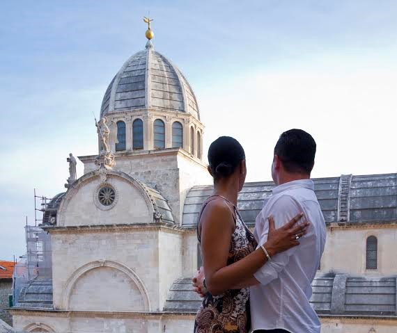 Our guests on their Photo Tour in Sibenik