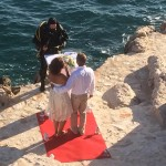 Wedding ceremony at the beach, Golden Rays Luxury Resort